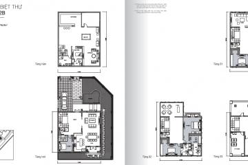 Cho thuê Biệt Thự Vinhomes Bason 325m2 căn số 16 giá tốt