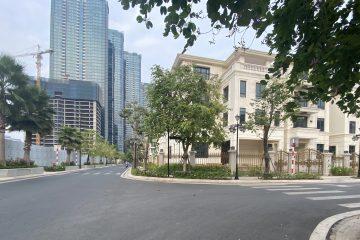 Cho thuê Biệt Thự Bason căn góc 2 mặt tiền diện tích 325m2