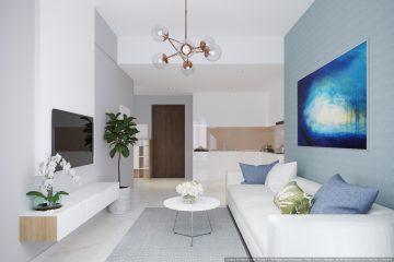 Cho thuê căn hộ 2PN Masteri An Phú 70m2 full NT giá 23 triệu/tháng