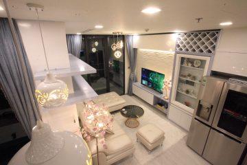 Cho thuê căn hộ Bason 1 phòng ngủ đầy đủ nội thất tòa Aqua 3