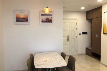Bán căn hộ Vinhomes Ba Son tòa Aqua 1, 3 phòng ngủ, tổng diện tích 121.4m2