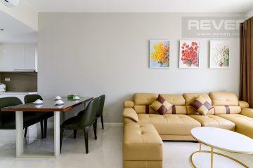 Cho thuê chung cư 2 phòng ngủ Masteri An Phú view sông