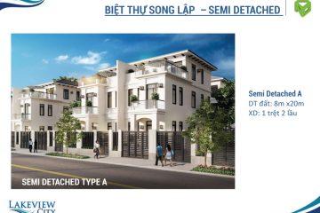 Biệt Thự Lakeview City 3PN full NT cho thuê diện tích 201.20 m2