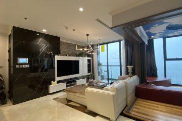 Bán căn hộ Vinhomes Ba Son 3PN full NT cao cấp dt 110m2