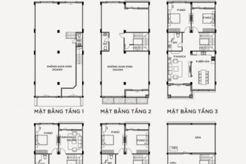 Bán nhà phố Vinhomes Grand Park 6 phòng ngủ loại M-07-SH giá tốt