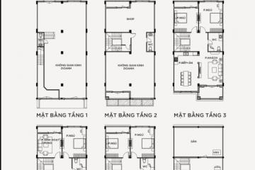 Vinhomes Grand Park 6 phòng ngủ thiết kế 5 tầng 1 áp mái cần bán