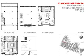 Thuê nhà phố Vinhomes Grand Park – The Manhattan 7 phòng ngủ diện tích 198m2