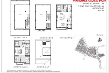 Thuê nhà phố Vinhomes Grand Park 7 phòng ngủ diện tích 180m2 giá tốt