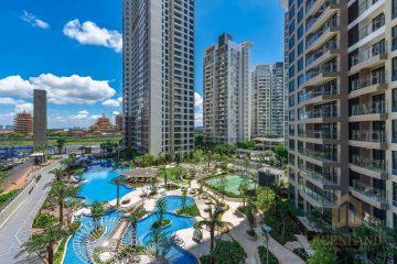 Bán gấp căn hộ Palm Heights 2PN 77m2 tầng thấp