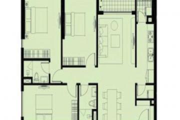 Bán gấp căn hộ Garden Gate Residence 3 phòng ngủ diện tích lớn