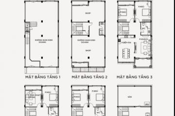 Bán nhà phố Vinhomes Grand Park loại M-07-SH-G-M với 6 phòng ngủ 6 WC
