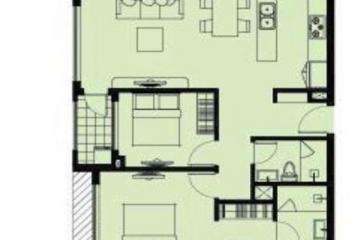 Căn hộ Garden Gate Residence 2 phòng ngủ diện tích 79.2m2 cần bán gấp