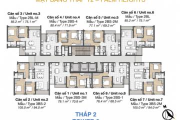 Cho thuê căn hộ Palm Heights quận 2 – An Phú – TP.HCM