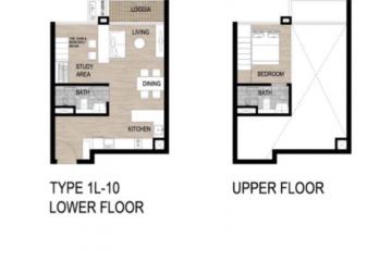 Căn hộ Loft The Galleria Residence quận 2 diện tích nhỏ cần cho thuê