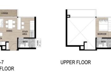 Thuê căn hộ Loft 2 phòng ngủ dự án The Metropole Thủ Thiêm