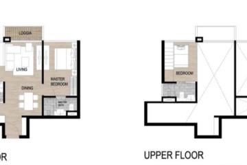 Cho thuê căn hộ Loft The Galleria Residence diện tích lớn view nội khu