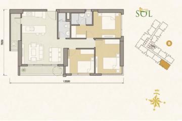 Bán gấp Căn hộ chung cư Masteri An Phú 3PN, tòa B giá rẻ