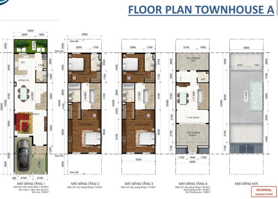 Nhà phố Lakeview 4 phòng ngủ phân khu Central Lake 1 cần bán