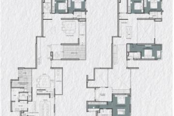 Cho thuê Penthouse Vista Verde 6 phòng ngủ diện tích 455m2