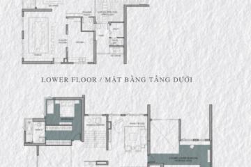 Cho thuê Penthouse Vista Verde tòa Lotus diện tích lớn 6 phòng ngủ