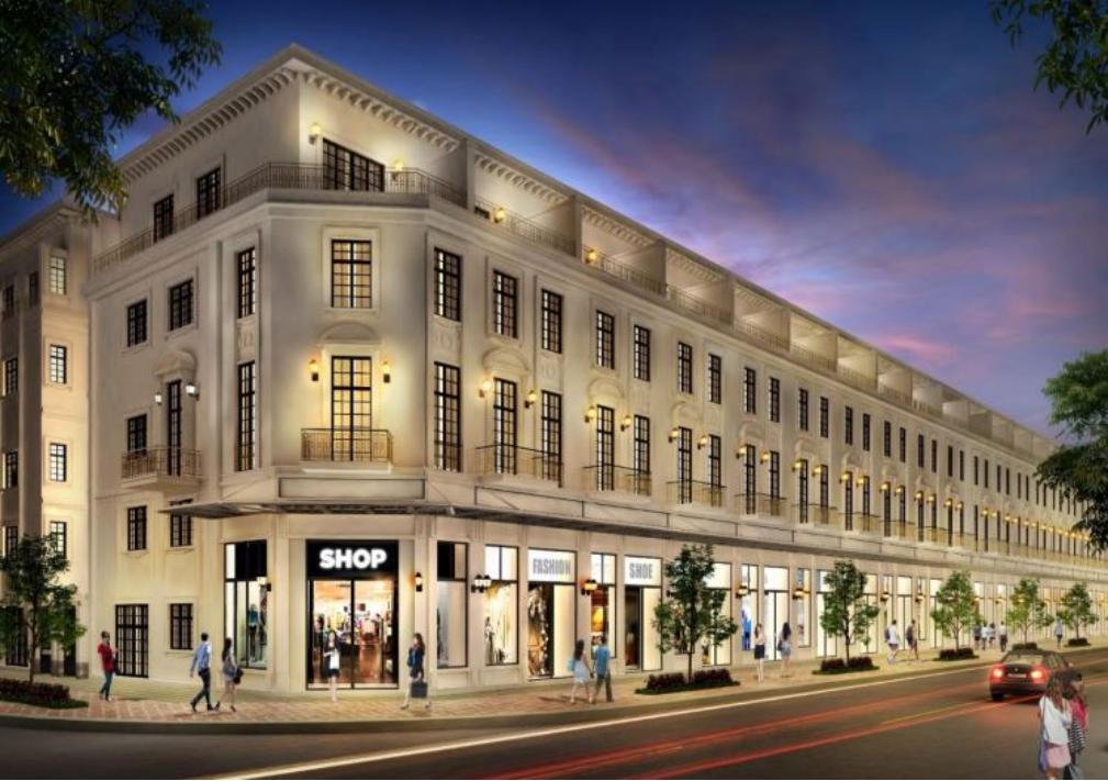 Shophouse Lakeview City phân khu East Lake thiết kê 5 tầng 1 áp mái cần bán