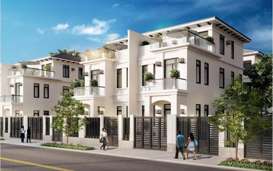 Biệt thự dự án Lakeview City loại A thiết kế 3 tầng 1 áp mái cần cho thuê