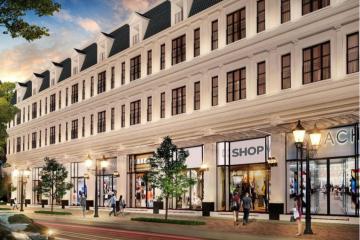 Cho thuê Shophouse dự án Lakeview City 3 phòng ngủ diện tích 327.44m2