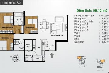 Cần bán căn hộ chung cư Ascent Thảo Điền 3 phòng ngủ