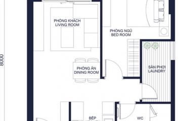 Căn hộ 1 phòng ngủ Masteri Millennium quận 4 cần cho thuê gấp