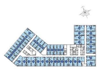 Chuyển nhượng căn hộ Officetel The Sun Avenue 1 phòng ngủ giá 1.7 tỷ
