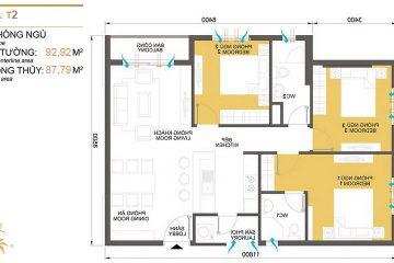 Chuyển nhượng căn hộ Masteri Thảo Điền tòa T2 diện tích 90.92m2