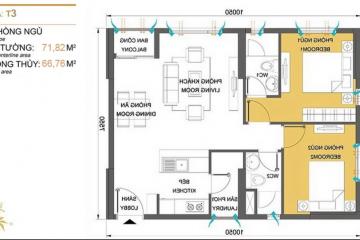 Căn hộ chung cư Masteri Thảo Điền tòa T3 tầng cao cho thuê giá tốt