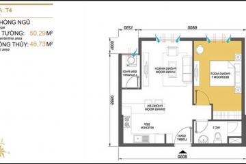 Cho thuê gấp căn hộ chung cư Masteri Thảo Điền diện tích nhỏ 1 phòng ngủ