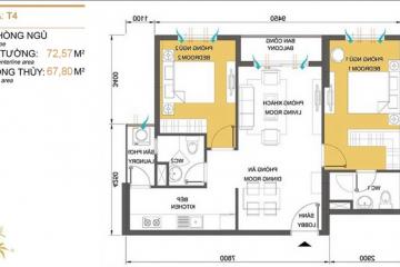 Chuyển nhượng căn hộ Masteri Thảo Điền tòa T4 đầy đủ nội thất