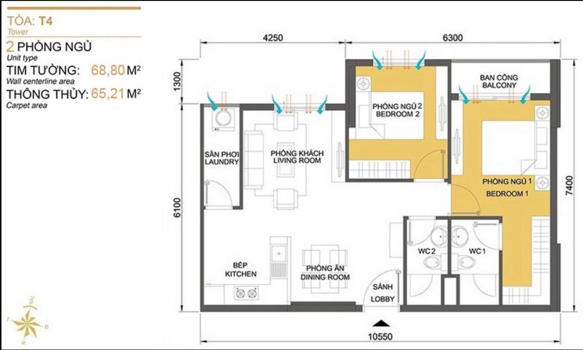 Chính chủ chuyển nhượng căn hộ Duplex Masteri Thảo Điền giá 9 tỷ