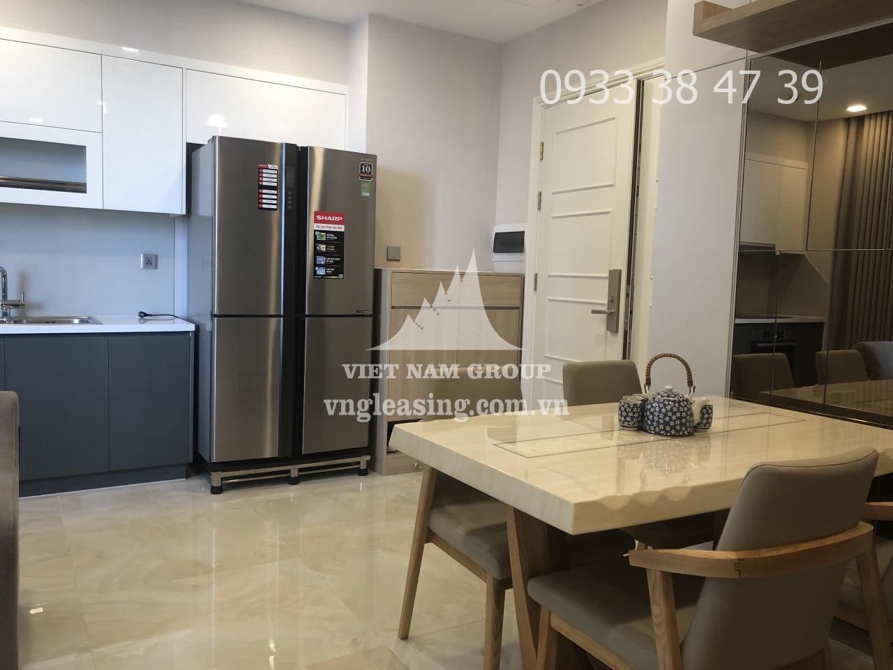 Căn hộ chung cư Vinhomes Golden Bason view đẹp 2 phòng ngủ cho thuê