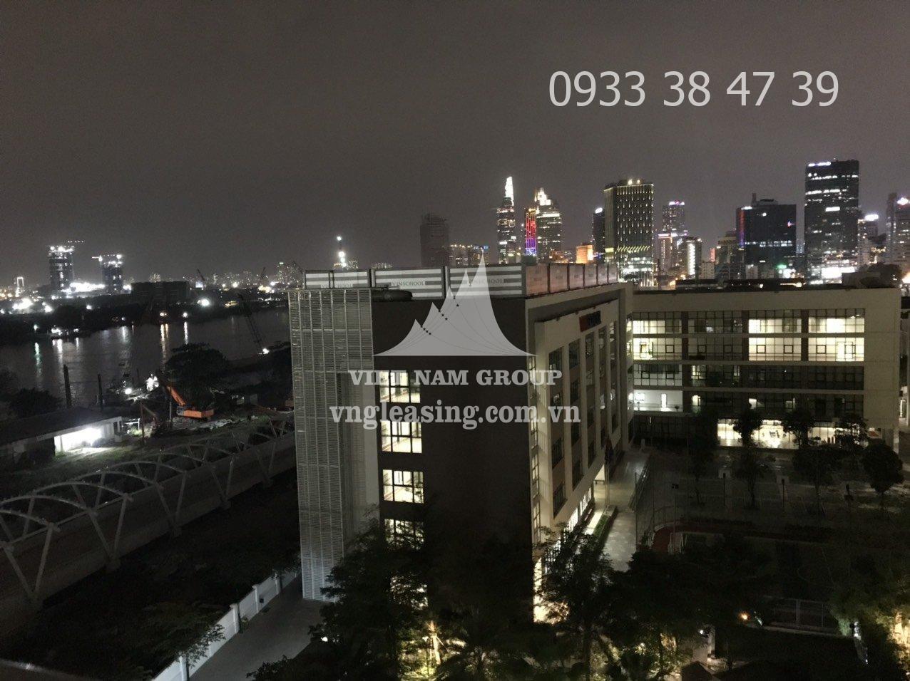 Cho thuê căn hộ Vinhomes Golden Bason view sông 1 phòng ngủ tòa Aqua 4