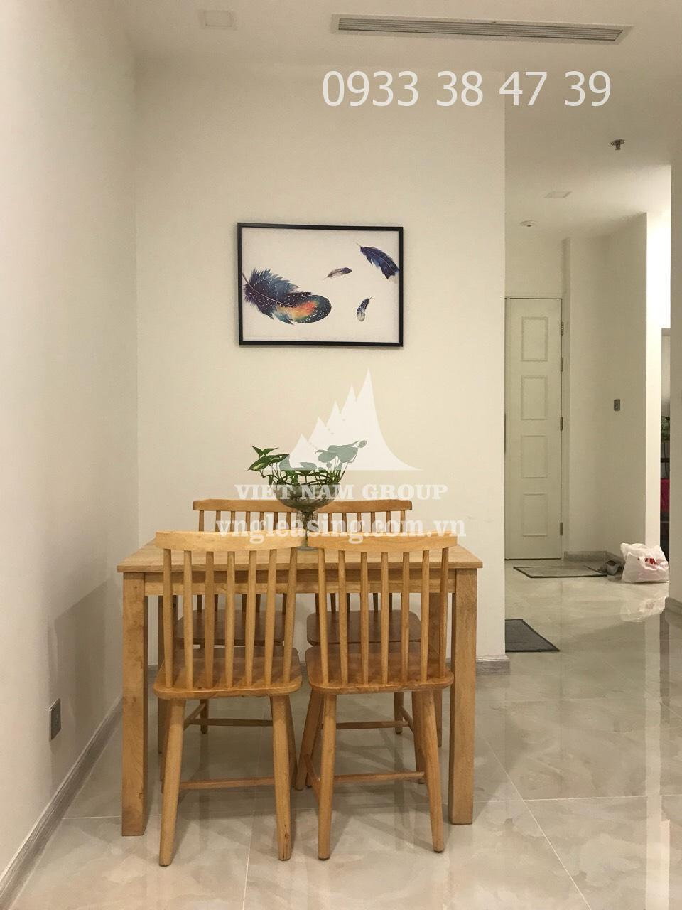 Officetel Vinhomes Golden Bason view nội khu 1 phòng ngủ cần cho thuê
