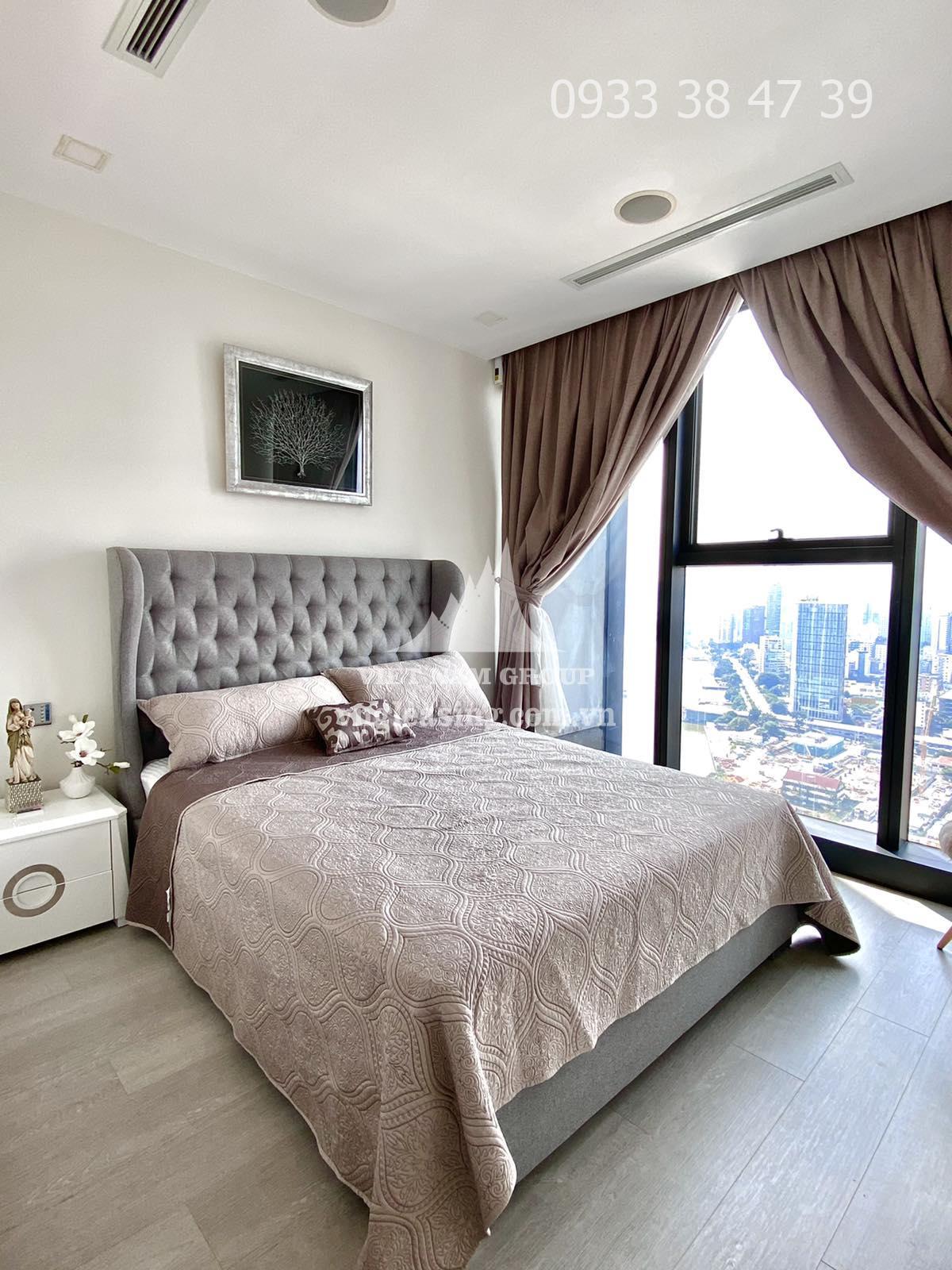 Căn hộ Vinhomes Golden Bason view sông Sài Gòn nội thất cao cấp cho thuê gấp